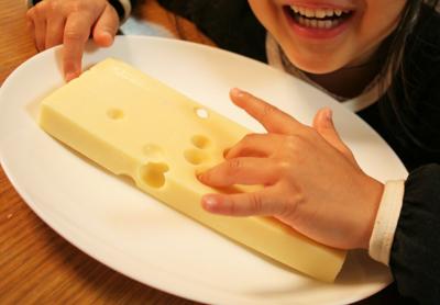 穴あきチーズ